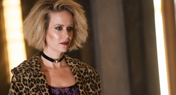 "AMERICAN HORROR STORY -- ""Checking In"" Episode 501 (Airs Wednesday, October 7, 10:00 pm/ep) Pictured: Sarah Paulson as Sally. CR: Suzanne Tenner/FX"